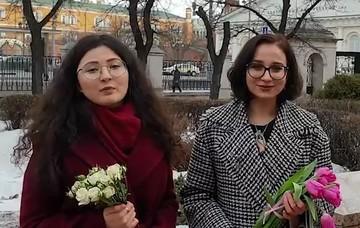 فیلم | تبریک نوروزی دانشجویان روسیه به زبان فارسی
