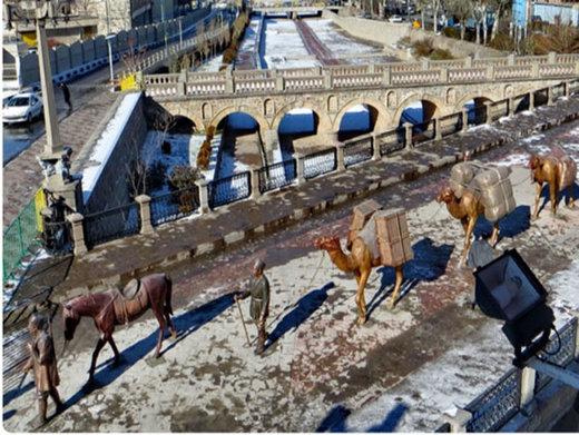 پلهای تاریخی آذربایجانشرقی، گذرگاه شرق و غرب در عهد قدیم