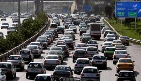 ترافیک پرحجم در مسیر آزادراه «کرج-قزوین» و «قزوین-رشت»
