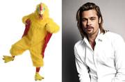 هنرپیشهای که برای گذران زندگی لباس مرغ پوشید!