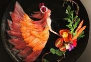 تصاویر | این آثار هنری غذای محبوب ژاپنیهاست!