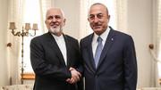 Zarif meets Turkish counterpart