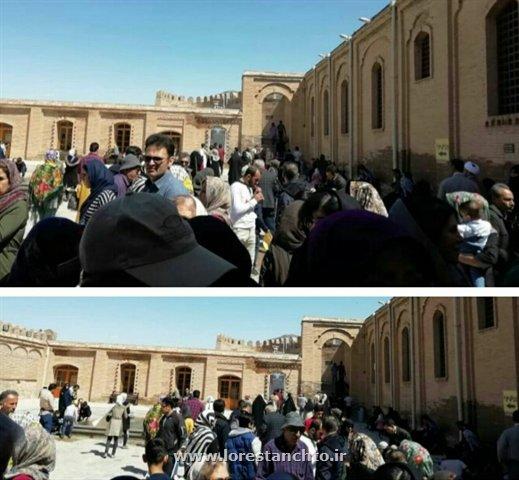 بازدید ۲۹۵۱ نفر از قلعه فلکالافلاک در خرم آباد