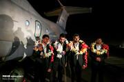 تصاویر | بازگشت ۴ مرزبان آزاد شده از دست تروریستهای جیش الظلم