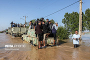 ورود لاریجانی و جهانگیری به استان گلستان
