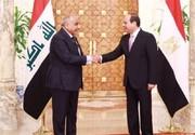 تصاویر | دیدار نخستوزیر عراق با السیسی در قاهره