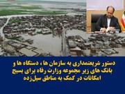 وزیر کار: همه برای کمک به هموطنان سیلزده بسیج شوند