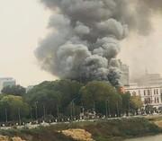 آتشسوزی در کاخ ریاست جمهوری سودان