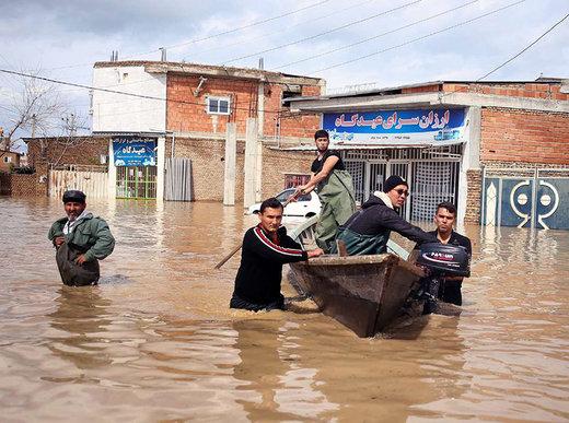 کمک به سیلزدگان مناطق شمالی کشور با شماره گیری #۱۱۲*۷۸۰*