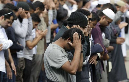 حضور غیرمسلمانها در نمازجمعه نیوزیلند