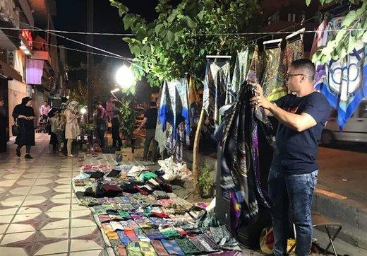کرونا و بازار کساد/ شب عید دستفروشان چطور میگذرد؟