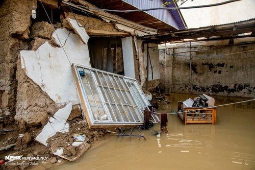 خسارت ۳۵۰ میلیارد تومانی سیل به گلستان و مازندران