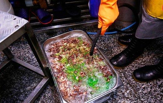 کشف ۲۶۷ کیلو مواد غذایی فاسد در درکه و رستورانهای شمال پایتخت