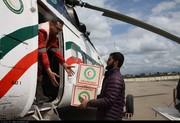 فرودگاه گرگان بسیار شلوغ است: ۲۴۰ پرواز در یک روز برای کمک به سیلزدگان