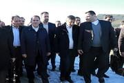 بازدید اسحاق جهانگیری از مناطق سیلزده مازندران