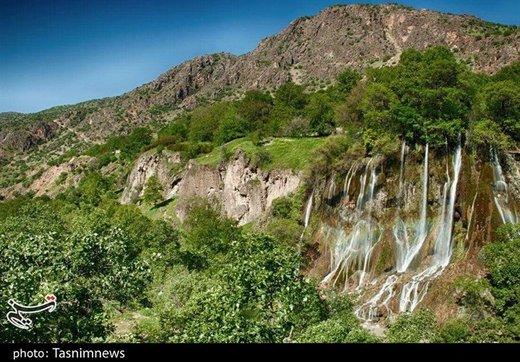 حیرت انگیزترین آبشارهای ایران در قلب زاگرس/ تصاویر