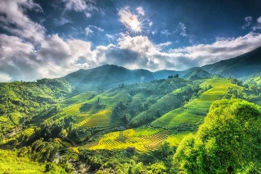 فصل بهار در ساپا ویتنام