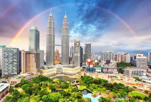 فصل بهار در شهر کوالالامپور مالزی