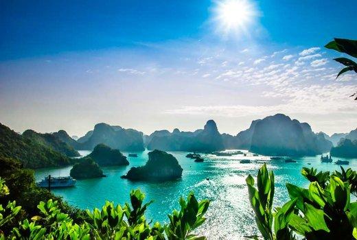 فصل بهار در خلیج ها لونگ ویتنام