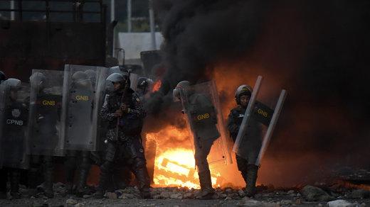 حمله نظامی به ونزوئلا قوت گرفت/ مایک پنس به شورای امنیت میرود