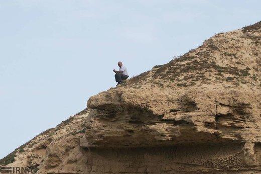 حضور گردشگران نوروزی در سواحل بوشهر