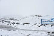 تصاویر   سفیدپوش شدن روستای بند و ارتفاعات خوشاکو