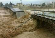 عکس   تخریب پل اصلی شهر پلدختر
