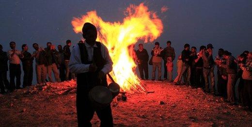 گیلانیها با دیچین واچین به استقبال عید رفتند