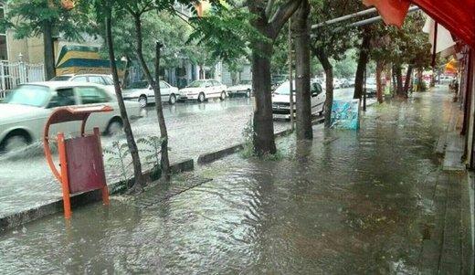 اخبار هواشناسی | تا چهارشنبه باران میبارد، لطفا مراقب باشید