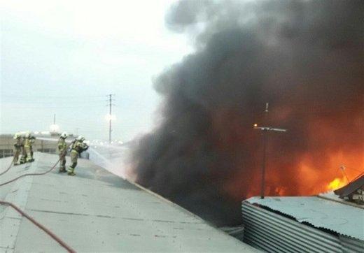 فرماندار شوش: انفجاری در کار نیست، خط لوله بنزین نشتی داشت و دچار حریق شد
