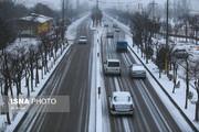 تصاویر | بارش برف در اردبیل در ششمین روز سال نو