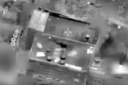 فیلم | انفجار دفتر رهبر حماس با موشک اسرائیلی
