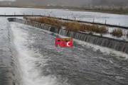 فیلم | دریاچه زریوار مریوان سرریز شد