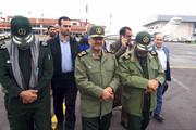 فیلم | بازدید فرمانده سپاه از مناطق سیلزده استان گلستان