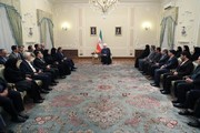 President Rouhani urges compensating flood-hit people