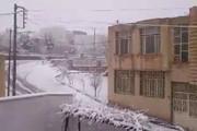 احتمال بارش برف در برخی نقاط اصفهان/ طوفان لحظهای در راه است