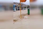 مونوپاد | جاری شدن سیل در ۲۰ متری آرمگاه سعدی در شیراز
