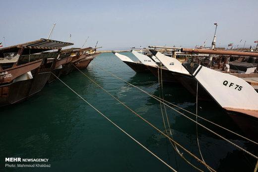 توقیف سه فروند شناور حامل سوخت و صید قاچاق در آب های کیش