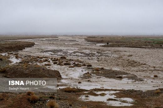 خسارات ناشی از سیل در خراسان شمالی