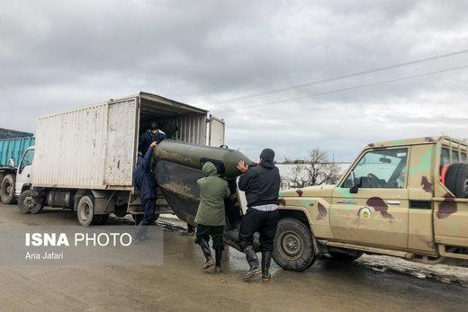 نهمین روز وقوع سیل در استان گلستان