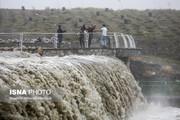 تصاویر   طغیان رودخانه اصلی مشهد