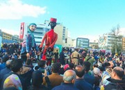 تصاویر   جشنِ هنری در محوطه تئاتر شهر
