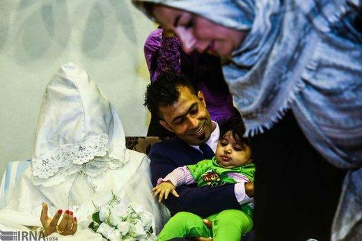 عروسی سیلزدگان آق قلا