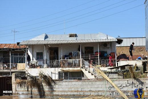 وضعیت مناطق سیلزده آققلا