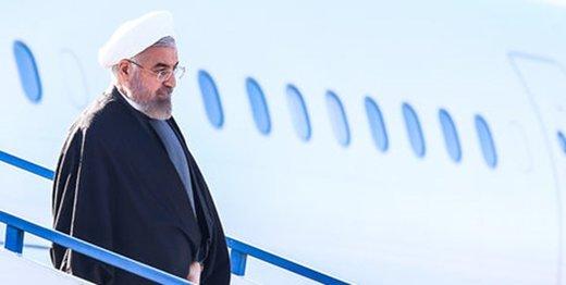 روحانی وارد استان گلستان شد