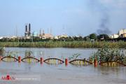 روایتی از خوزستان، 3 ماه پس از سیل/ سطح بالای آب کارون نگران کننده است