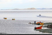 وسعت دریاچه ارومیه ۴۰ درصد افزایش یافته است