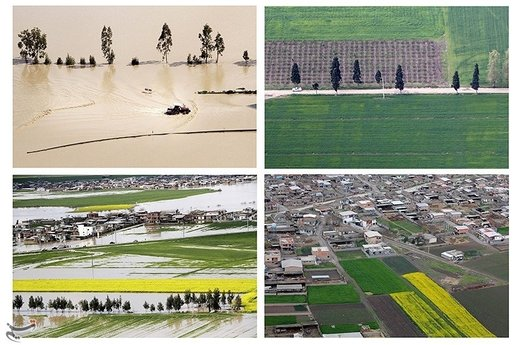 تغییرات طبیعت بهاری مناطق سیلزده استان گلستان