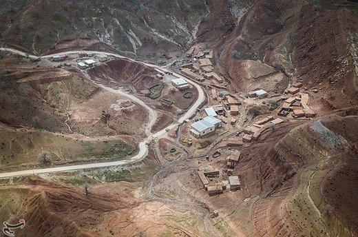 سیل در روستاهای پلدختر و بخش معمولان لرستان