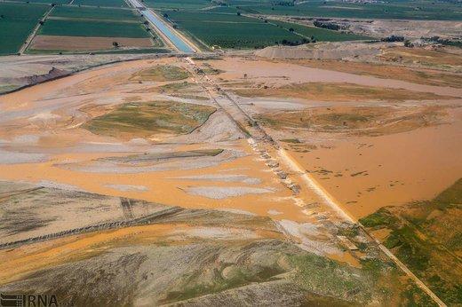 سیلاب در رودخانههای کرخه و کارون